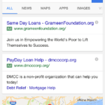 Google stumbles on updating Payday Loans PPC policy