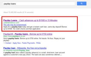 payday-loans-hacked-site