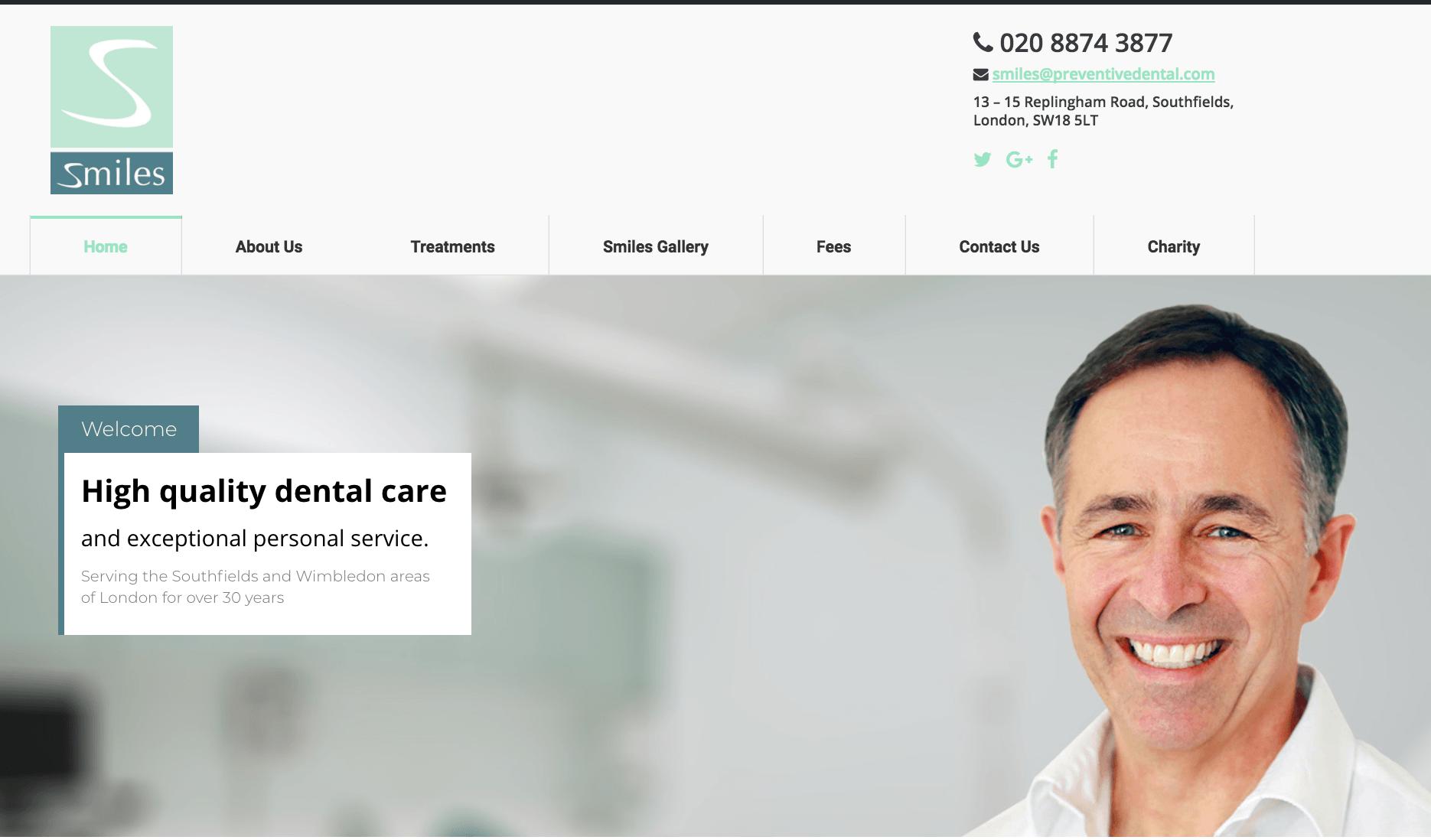preventive-dental-website