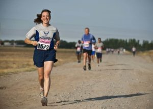 running-female