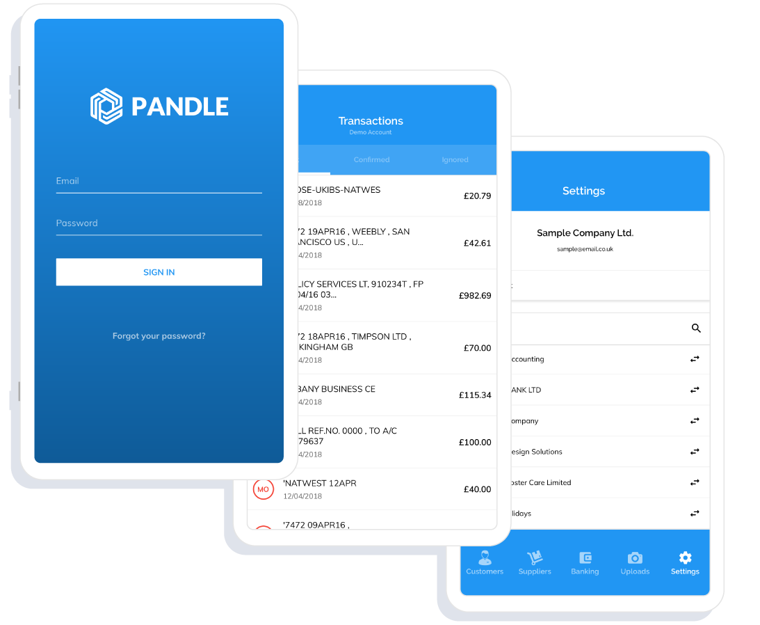 Pandle-accounting-platform