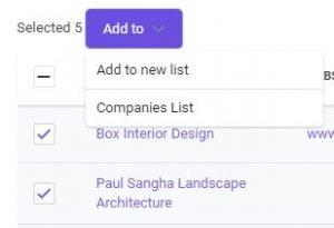 choose-emails-list