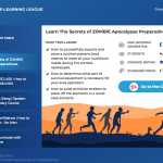 E-learning League Table Reveals Zombie Apocalypse and Selfie Courses Amongst the Most Popular Unusual Subjects
