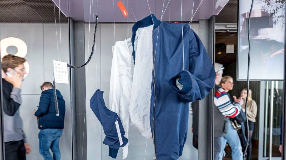 Sustainable textile startup Resortecs creates dissolving thread