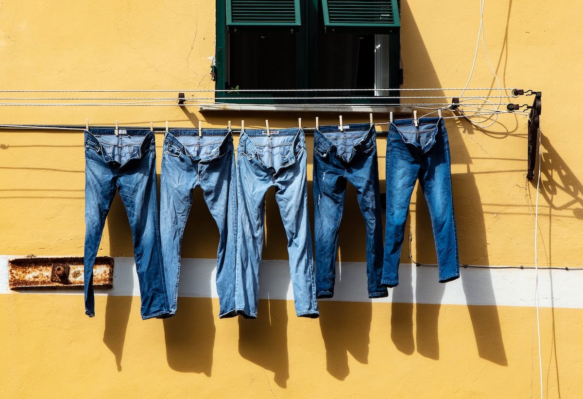 Denim Dyed Denim is a textile startup using old fabric to dye new materials, saving water.