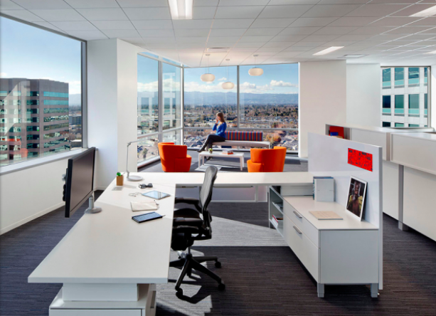 adobe-office-building-view