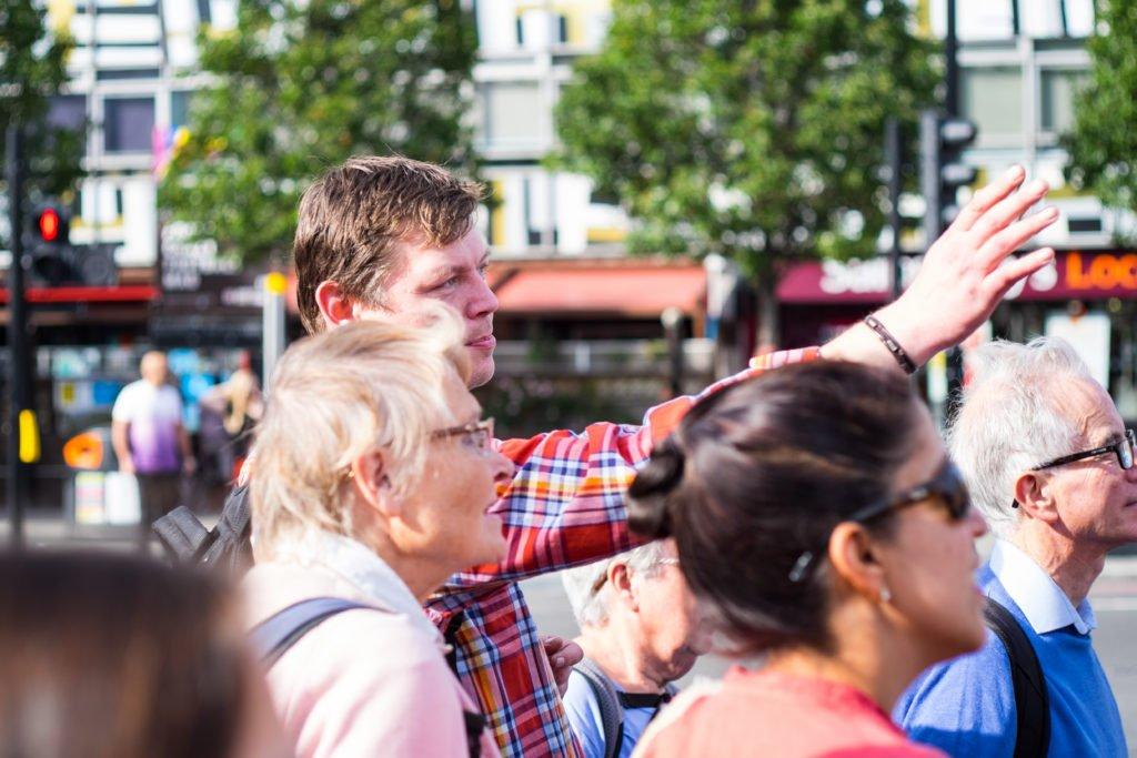 Unseen Tours, a London social enterprise