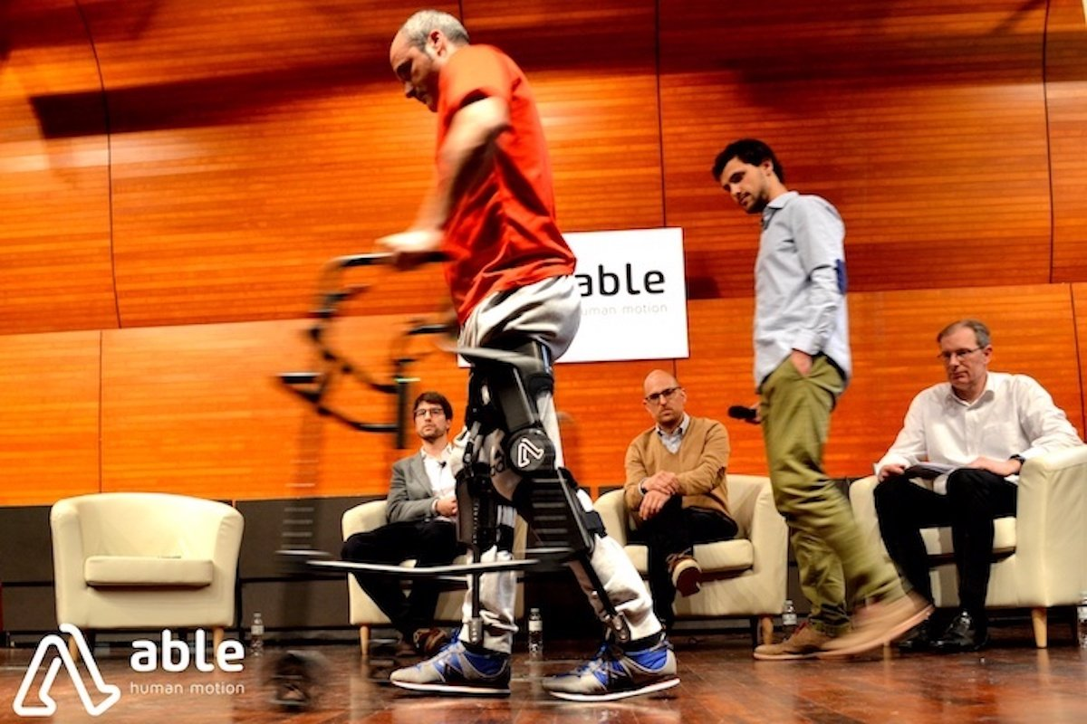 ABLE's affordable exoskeleton could help millions of people walk again.