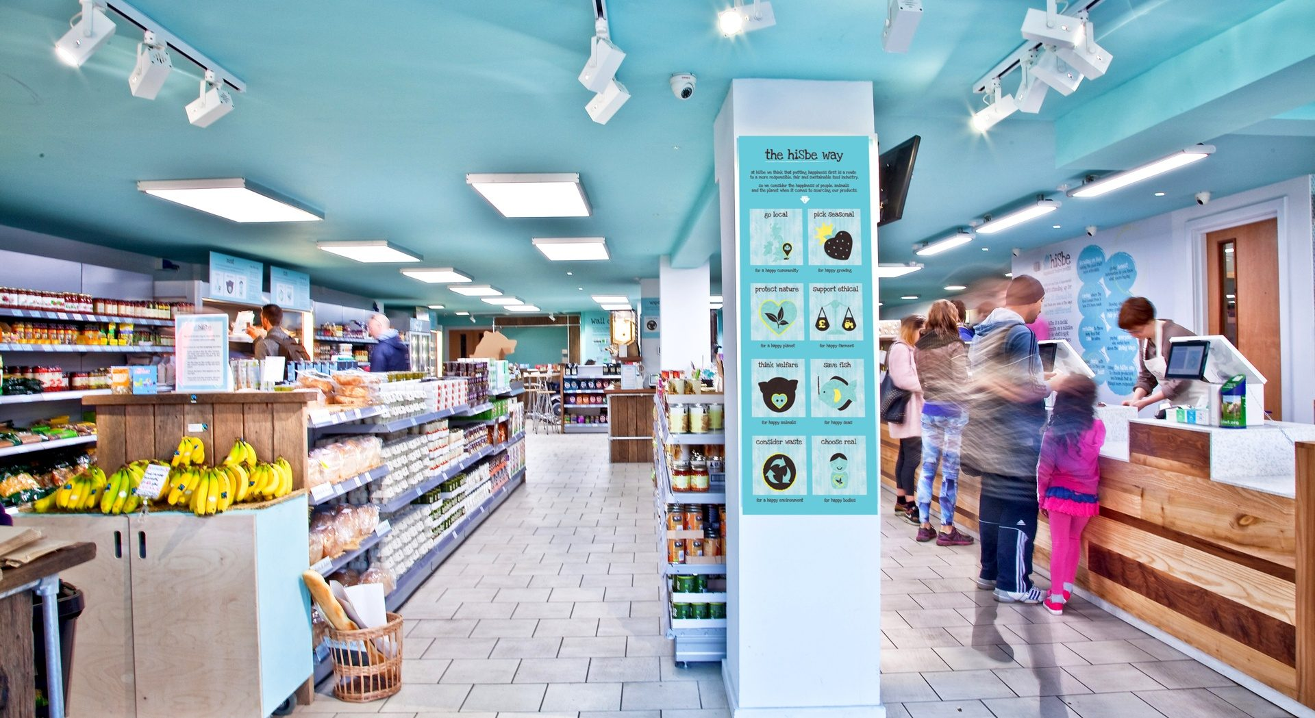 Brighton supermarket HISBE is a social enterprise and community interest company