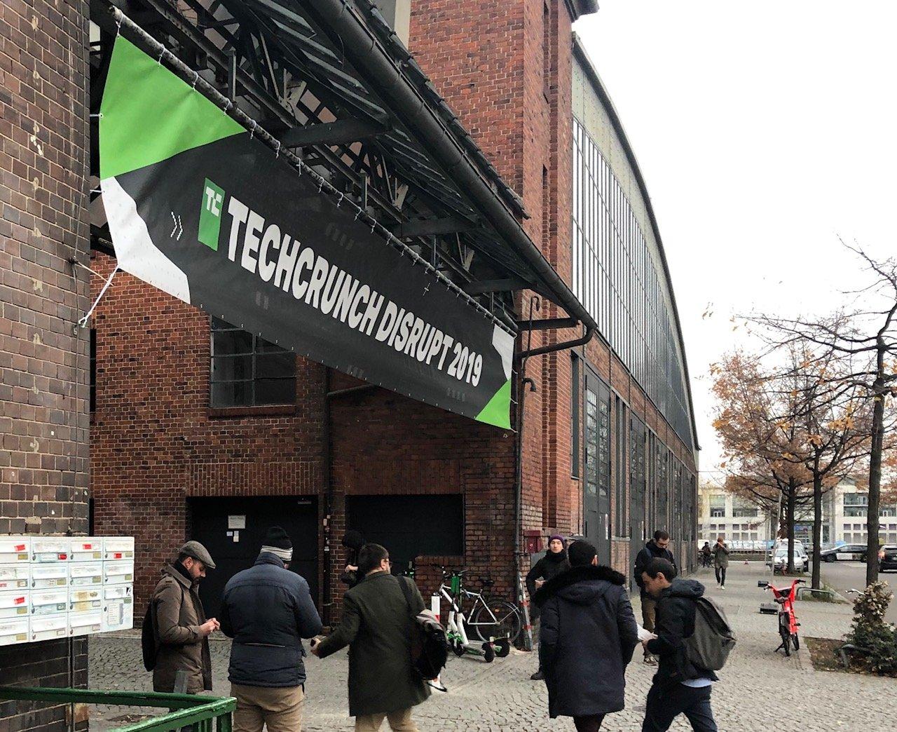 Disrupt-Berlin-entrance