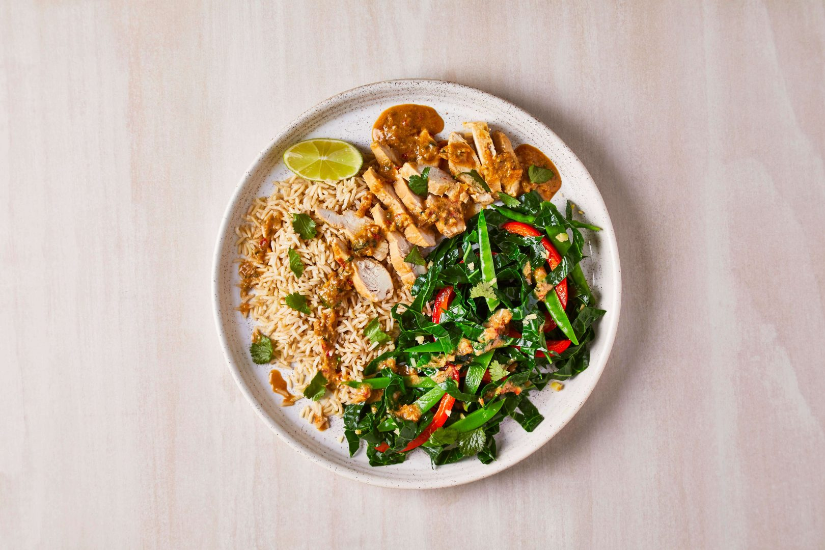 Thai-Chicken-Ginger-Greens-Brown-Rice