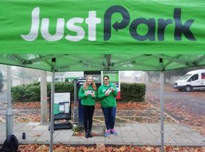 Justpark partnership