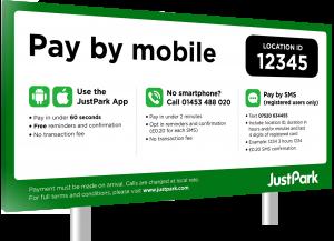 Justpark payment