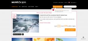 Secret Escapes Website