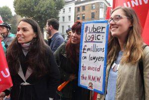 fairwork uber protest