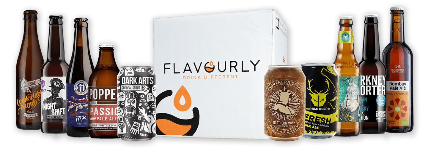 Flavourly beer subscription box UK