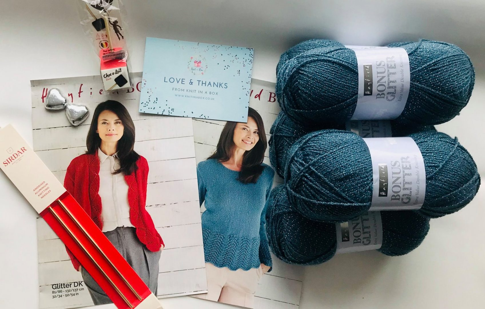 Knitting kit subscription box