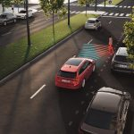ŠKODA Octavia's New Technology To Prevent Drivers Opening Car Doors Into Cyclists