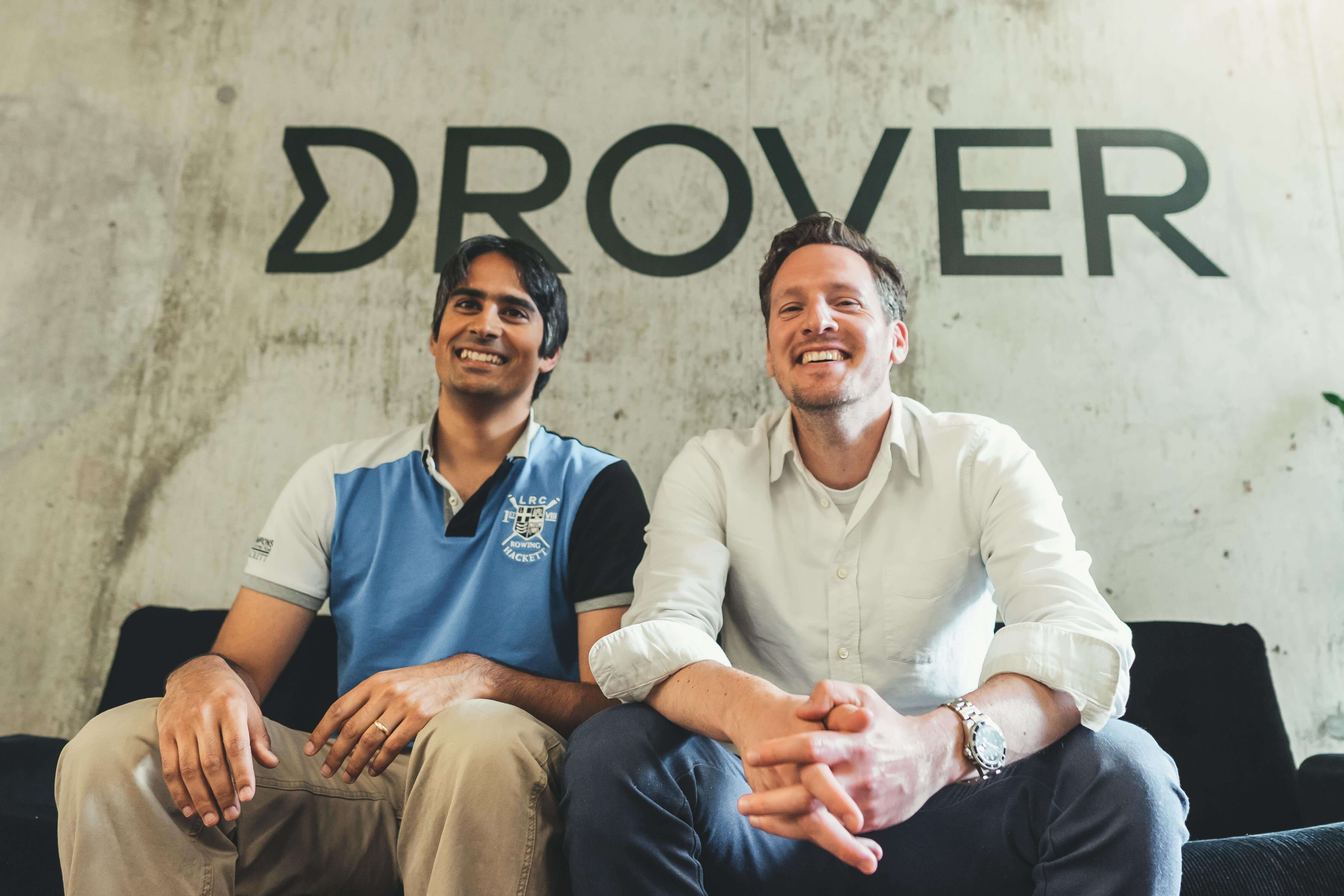 Cofounders of Drover