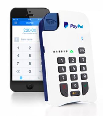 Paypal Here Machine