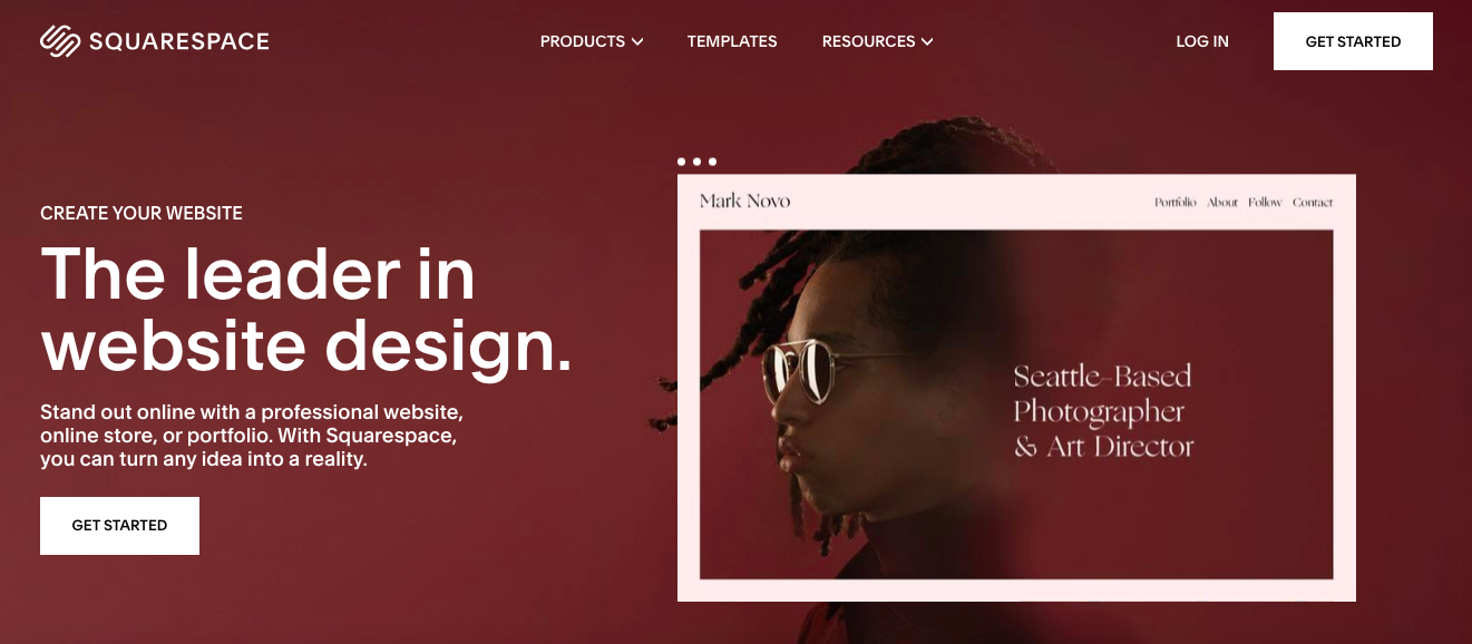 Squarespace-website