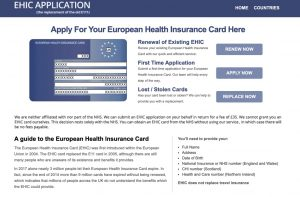 ehic-card-application