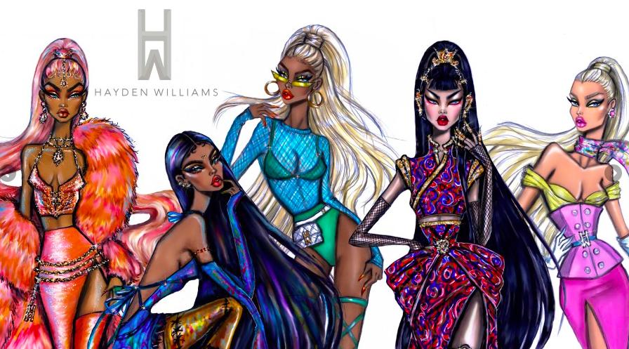 Hayden Williams Fashion Illustrator and Designer