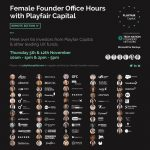 Playfair Capital and Tech Nation Expand Initiative For Female Founders