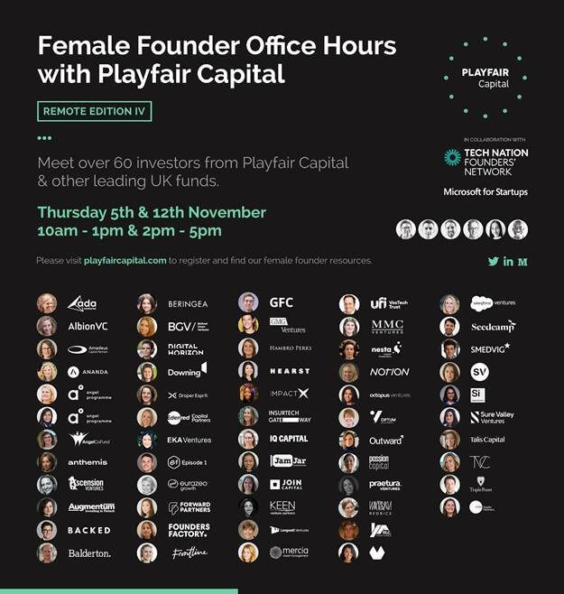 female-founder-tech-event-playfair