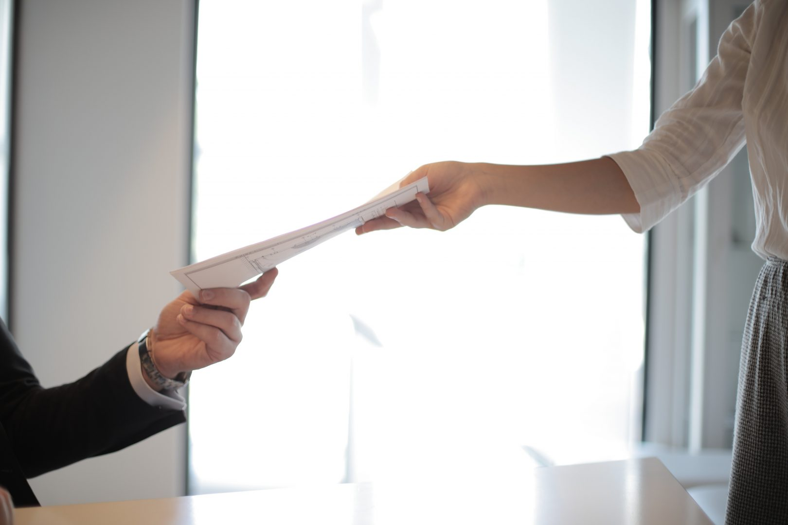 handing-over-document