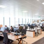 Number of Workers Wanting to Work From Offices Halves