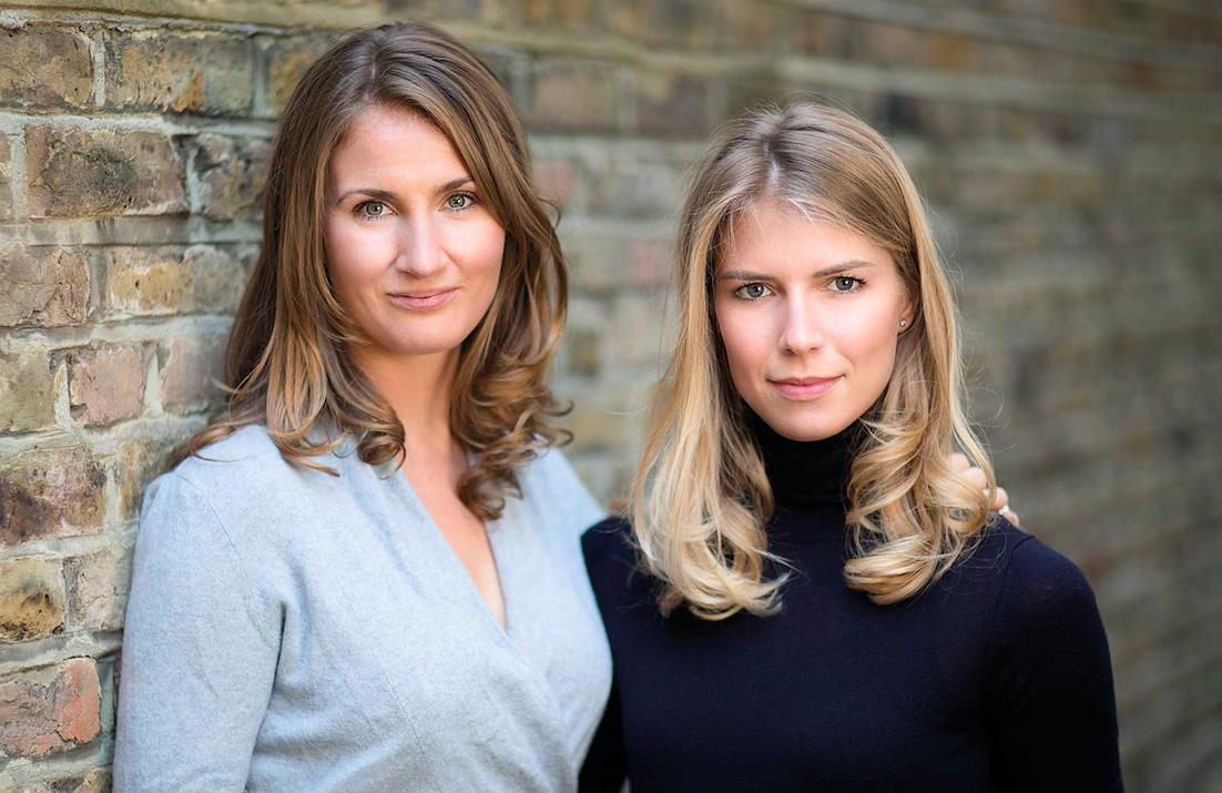 Dr Sophie Niedrrmaier-Patramani and Nadine Hellmann