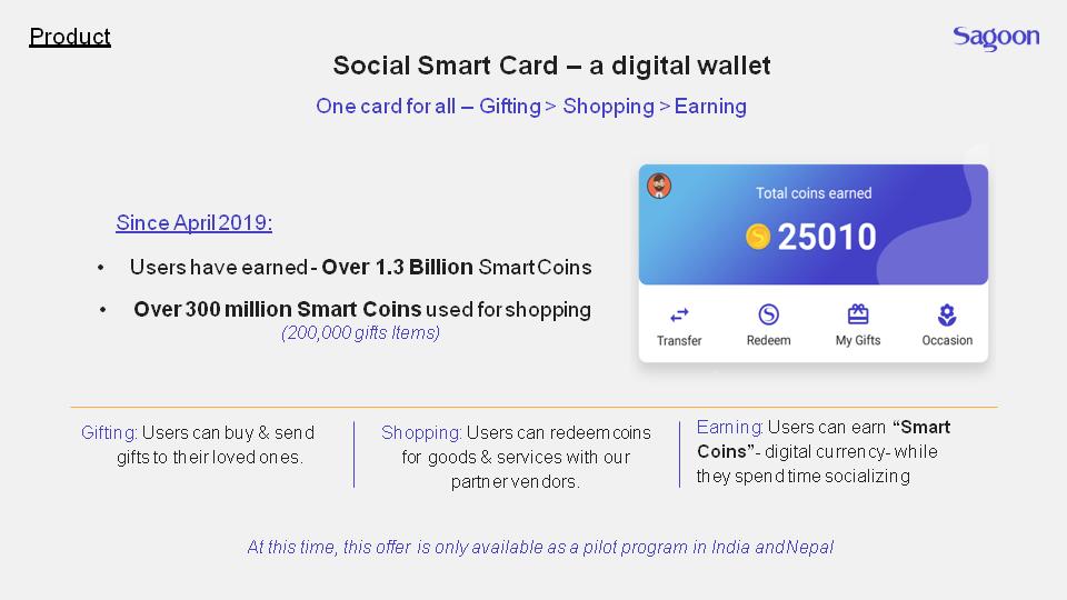 sagoon smartcard