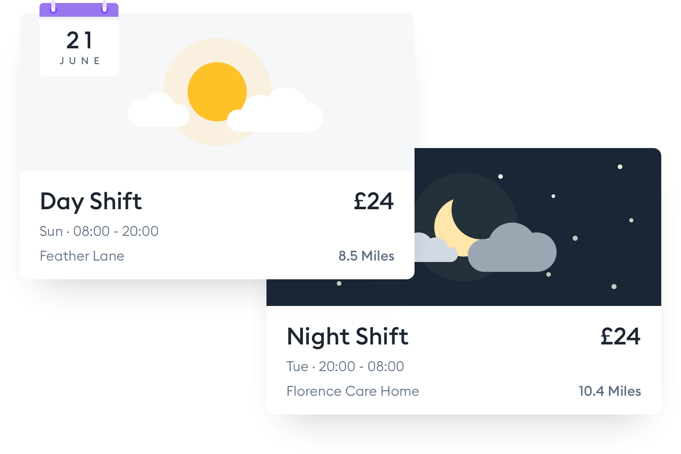 Florence-app-shift-example