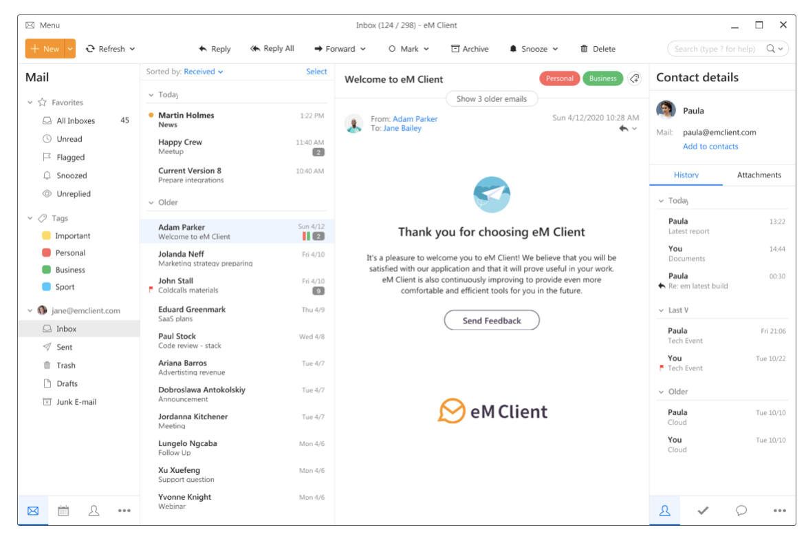 Em Client Best Email Client For Windows And Macos Techround