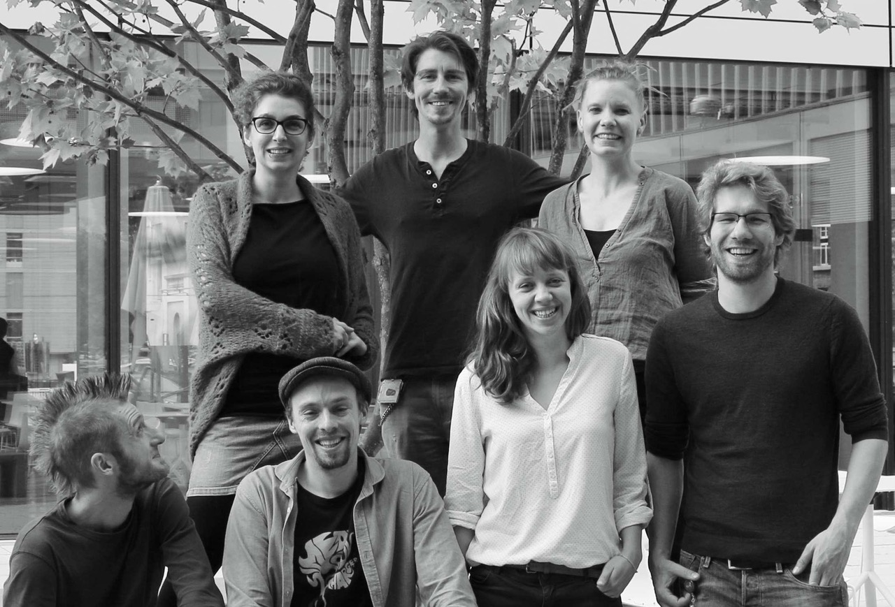 Plantix team, startup, AI