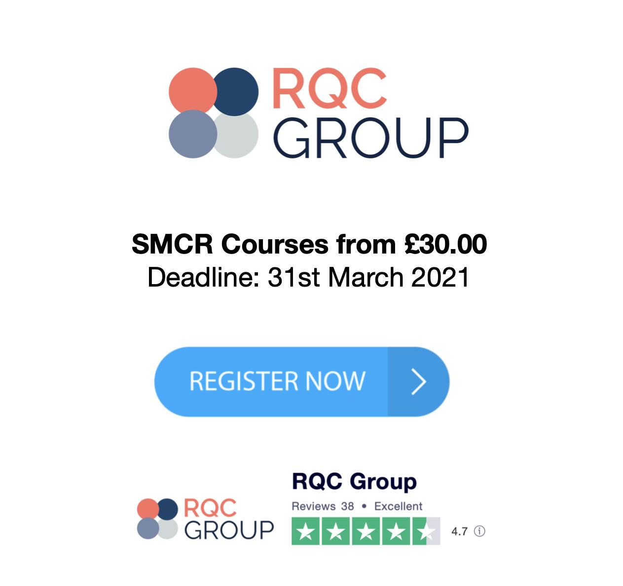 SMCR Training Courses