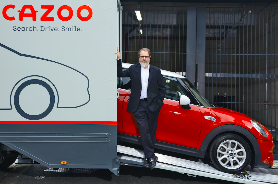 Cazoo founder and car