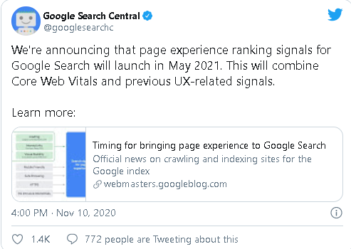 Google-Search-Central-Tweet
