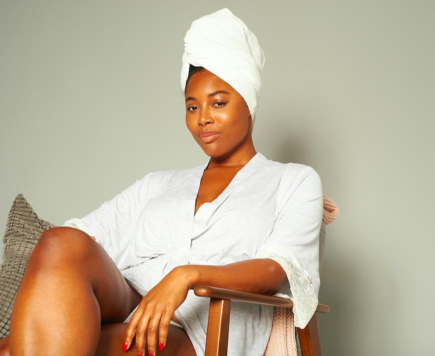 SOUL CAP Hair Towel