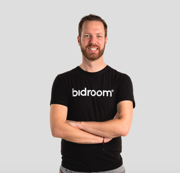 Michael Ros - Bidroom's CEO