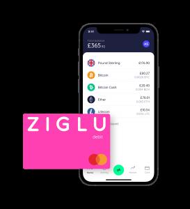 Ziglu card and app