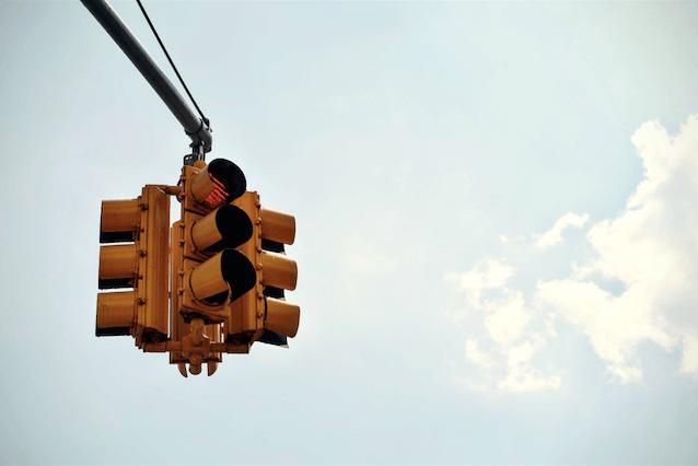 Traffic-lights-amongst-sky