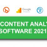 Best Content Analytics Software 2021