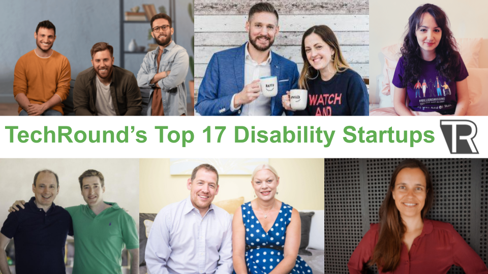 Top 17 Disability Startups