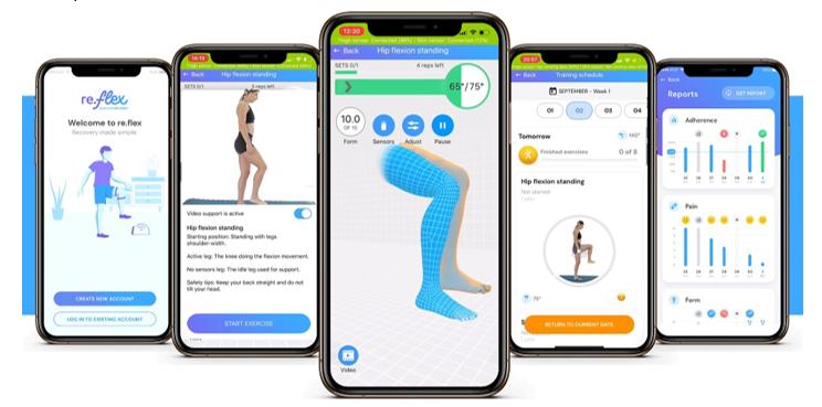 re.flex patient app