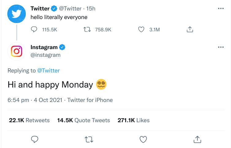 twitter hello literally everyone